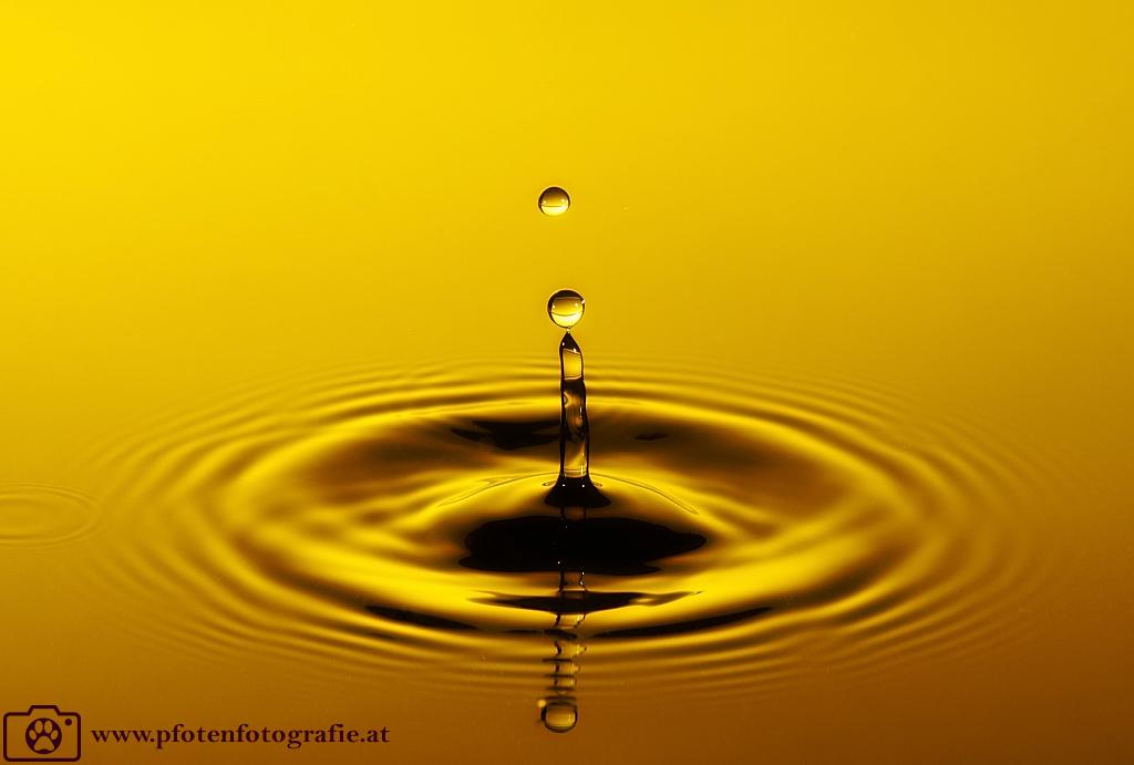 Wassertropfen fotografieren