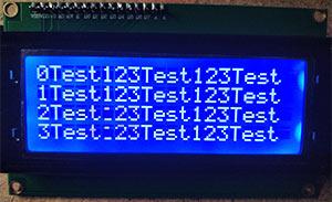HD44780 LCD Modul mit I2C Schnittstelle