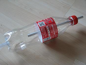 Mariottesche Flasche für konstanten Wasserdruck
