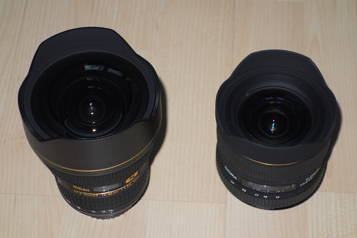 Nikon 14-24 Sigma 12-24
